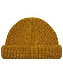 Шапка Roll Knit Mustard