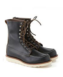 """Ботинки 8829 8"""" Classic Moc Toe Black Klondike"""