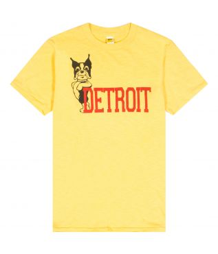 Футболка Detroit Light Yellow