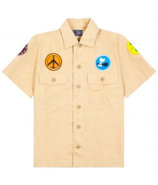 Рубашка Vietnam Peace Khaki