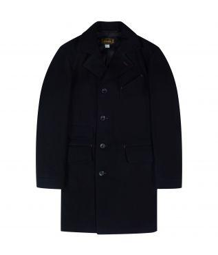 Пальто Chester Wool Melton Black