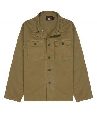Рубашка Curtis Herringbone Twill Olive Drab