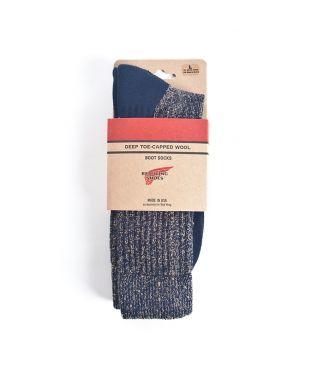Носки Deep Toe Capped Wool Navy
