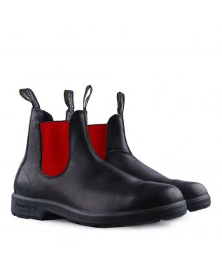 Ботинки 508 Black/Red Leather