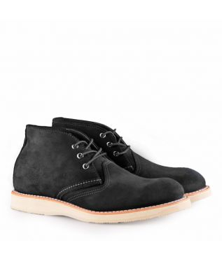 Ботинки 3147 Work Chukka Black Abilene