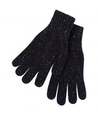 Перчатки Donegal Wool Dark Brown/Dark Natural
