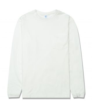 Лонгслив Tubular Pocket White