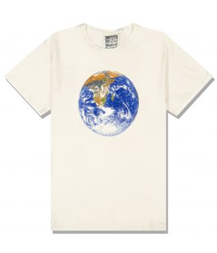 Футболка Jung Earth Day Flag Washed White