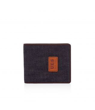 Портмоне Leather Combination Wallet Denim