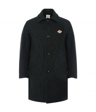 Пальто Wool Single Charcoal Coat