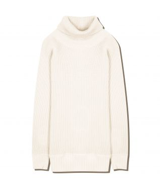 Толстовка Super Heavy Waffle Turtleneck Off-White