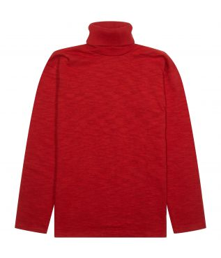 Лонгслив Turtle Neck Red