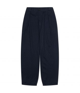 Брюки Wool Baloon Dark Navy