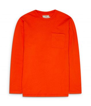 Лонгслив Heavy Duty Pocket Safety Orange