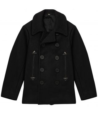 Пальто Wool Pea Coat Black