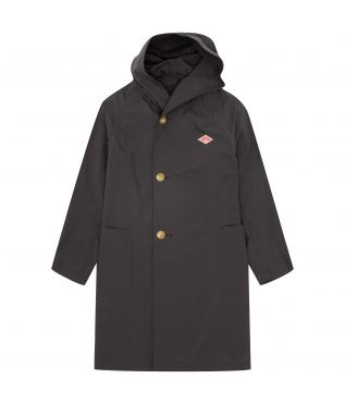 Плащ W's Nylon Taffeta Hooded Coat Deep Grey