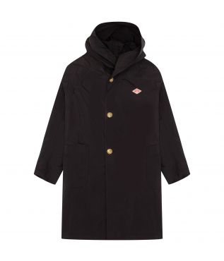 Плащ W's Nylon Taffeta Hooded Coat Black