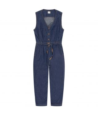 Комбинезон 6oz Denim Jumpsuit Indigo