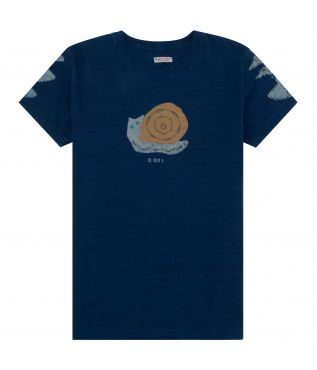 Футболка Snail Harvey Indigo