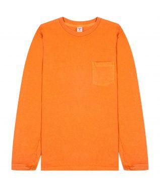 Лонгслив Pigment Pocket Orange
