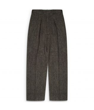 Брюки 2 Pleats Trousers Wool Grey