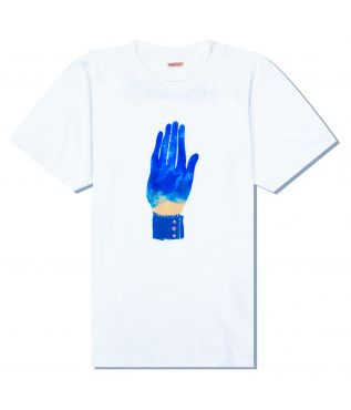 Футболка Blue Hand White