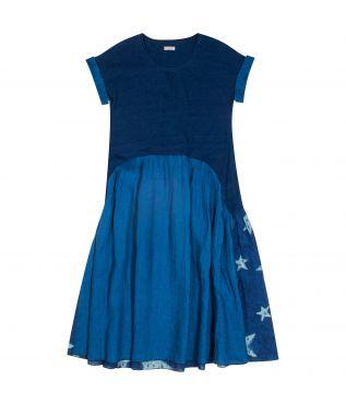Платье Aurora x Star Dye Indigo