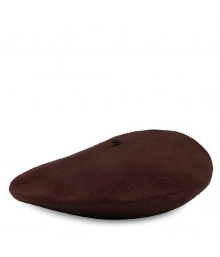 Берет Beret Wool Brown