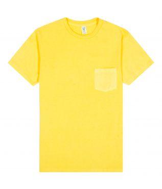 Футболка Pigment Pocket Yellow