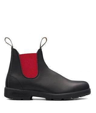 Ботинки 508 Black/Red Leather