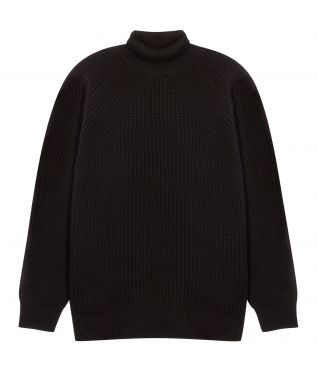 Свитер Signature Rib Turtleneck Black