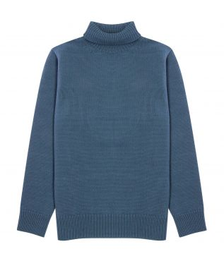 Свитер Turtleneck Felted Wool Gray Blue