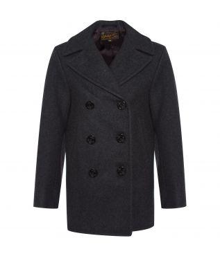 Пальто 26oz. Melton Wool Grey