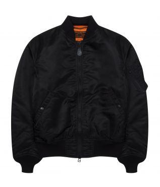 Куртка MA-1 Nylon Black
