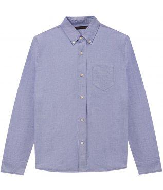 Рубашка Oxford Button Down Blue
