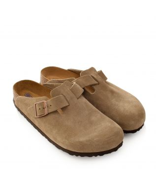 Сандалии Boston Narrow Taupe Suede