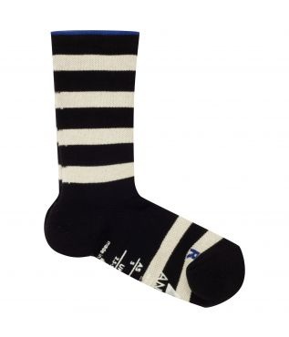 Носки Support Pile Crew Stripe Black White