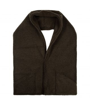 Шарф Fleece Reversible Stole Brown