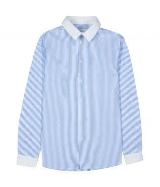 Рубашка Stripe Cleric Sax
