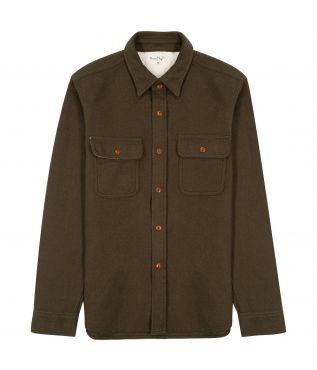 Рубашка Heavy Flannel Work Olive