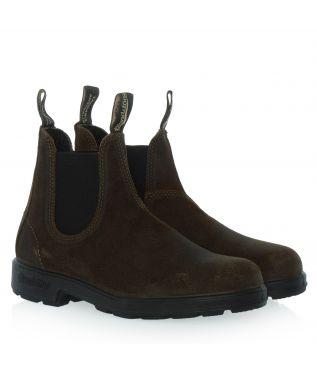 Ботинки 1615 Dark Olive Suede