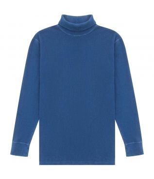 Толстовка Cotton Turtleneck Blue