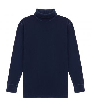 Толстовка Cotton Turtleneck Indigo