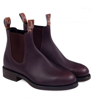Ботинки Gardener Greasy Kip Leather Brown