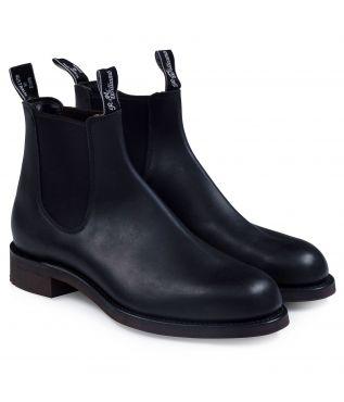 Ботинки Gardener Greasy Kip Leather Black