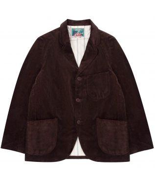 Пиджак 14oz Corduroy Tailored Dark Brown