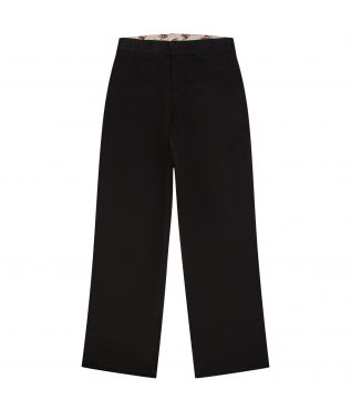 Брюки Cotton Chino Wide Black