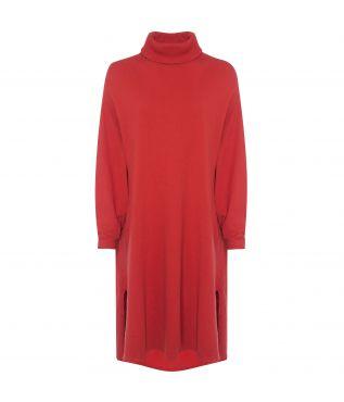 Платье Turtle Neck Berge Red