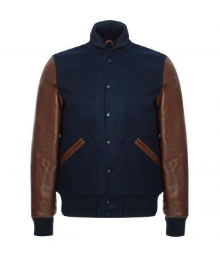 Куртка Varsity Dark Navy/Luggage