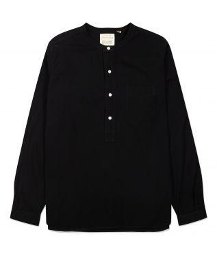 Рубашка Round Collar Pullover Black